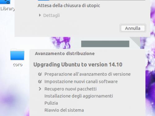 Aggiornare Ubuntu alla 14.10