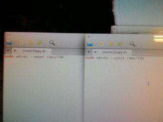 Floppy su Linux